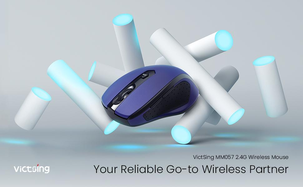 wireless mouse for laptop blue