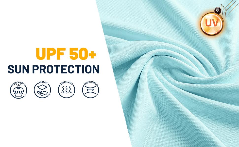 Womenamp;#39;s UPF 50+ Sun Protection Hoodie Material