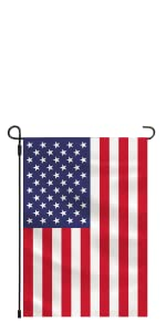American Garden Flag Polyester