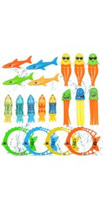 Diving Pool Toys for Kids