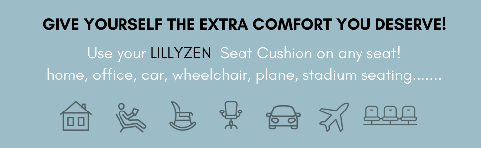 Transform any seat...icons- house, arm chair, rocking chair, office chair, car, plane, stadium seats