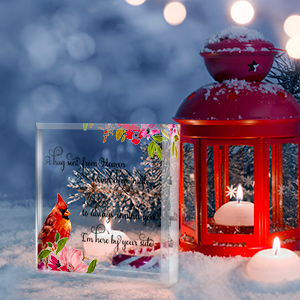 memorial gifts for loss of mother funeral gifts grieving gifts for loss of mom Red cardinal gifts