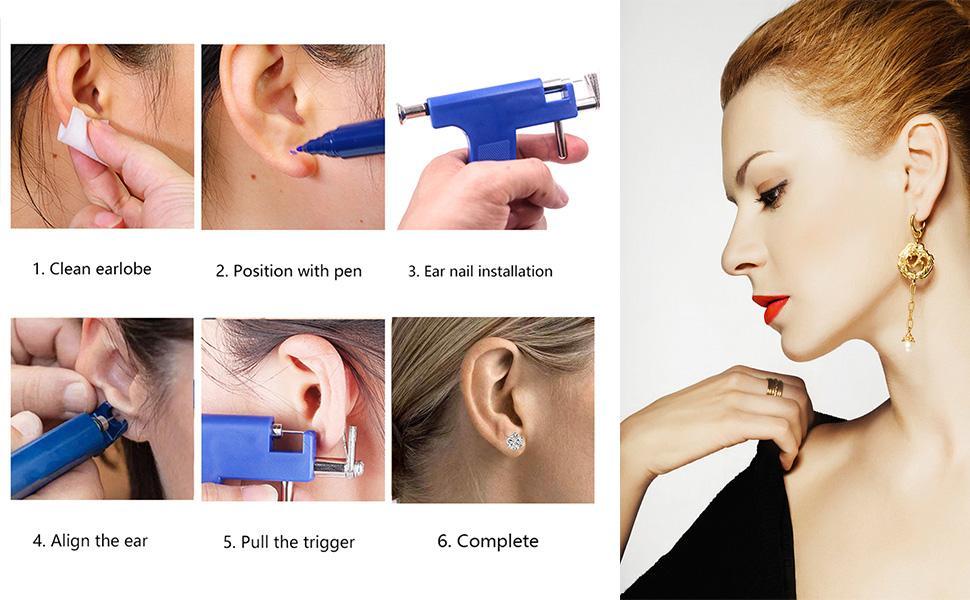 nose piercing kit