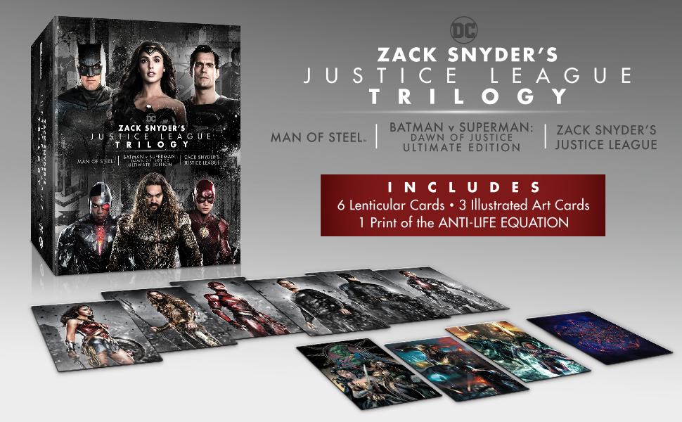 Zack Snyder Justice League Trilogy