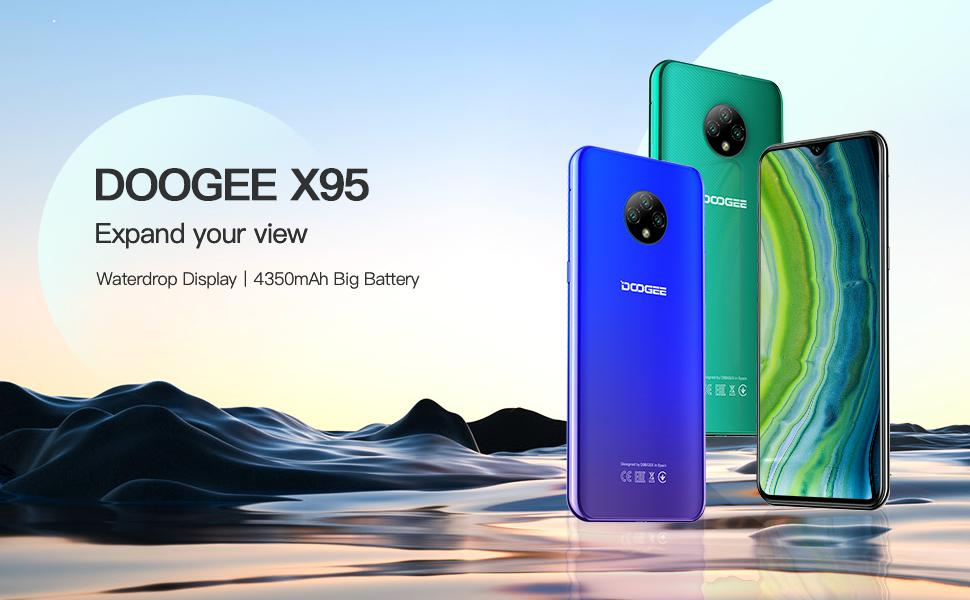 DOOGEE X95 mobile phone SIM-free unlocked