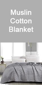muslin cotton blanket