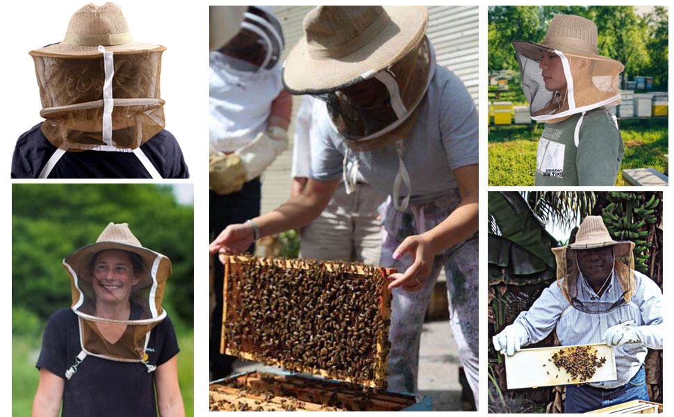 BeesNise Beekeeping veils