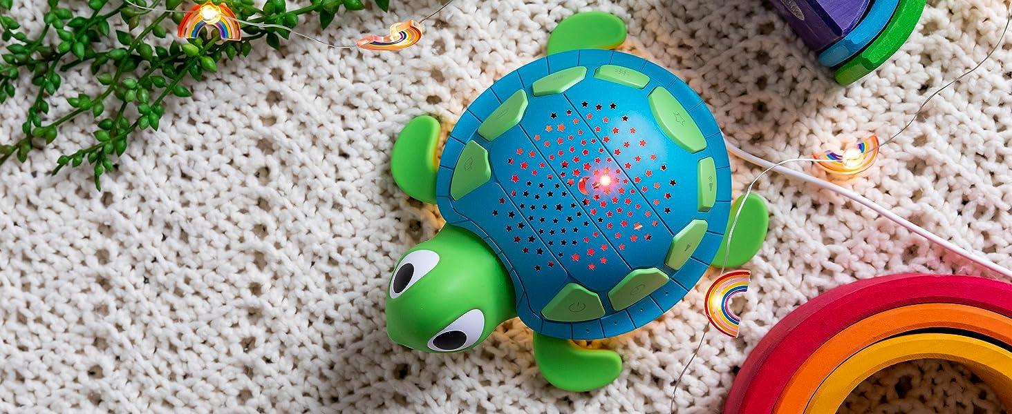 Yogasleep, White noise, projector, night light, turtle, sound machine, baby, nursery, sleep