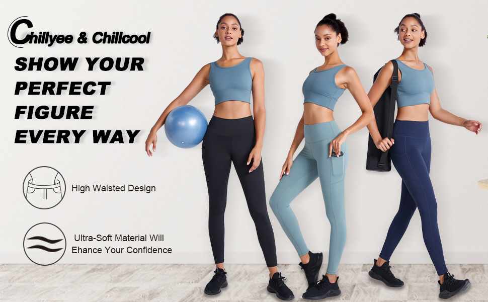 Chillyee & Chillcool yoga pant help unleash your full potential and put your ideas into action.