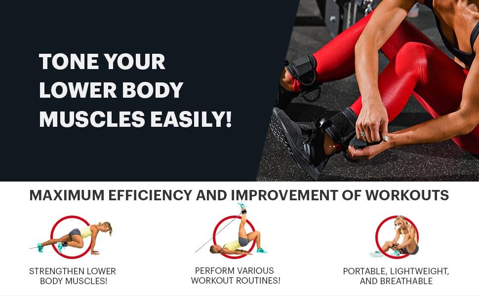 Tonen Sie Ihre Unterkörpermuskulatur leicht!
