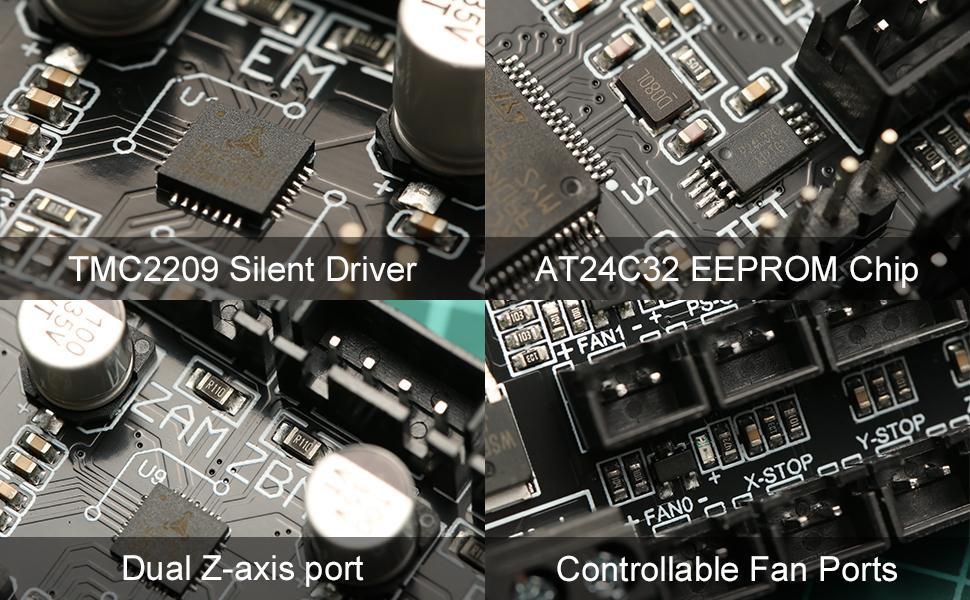 BIGTREETECH SKR Mini E3 V2.0 32-Bit Control Board Features
