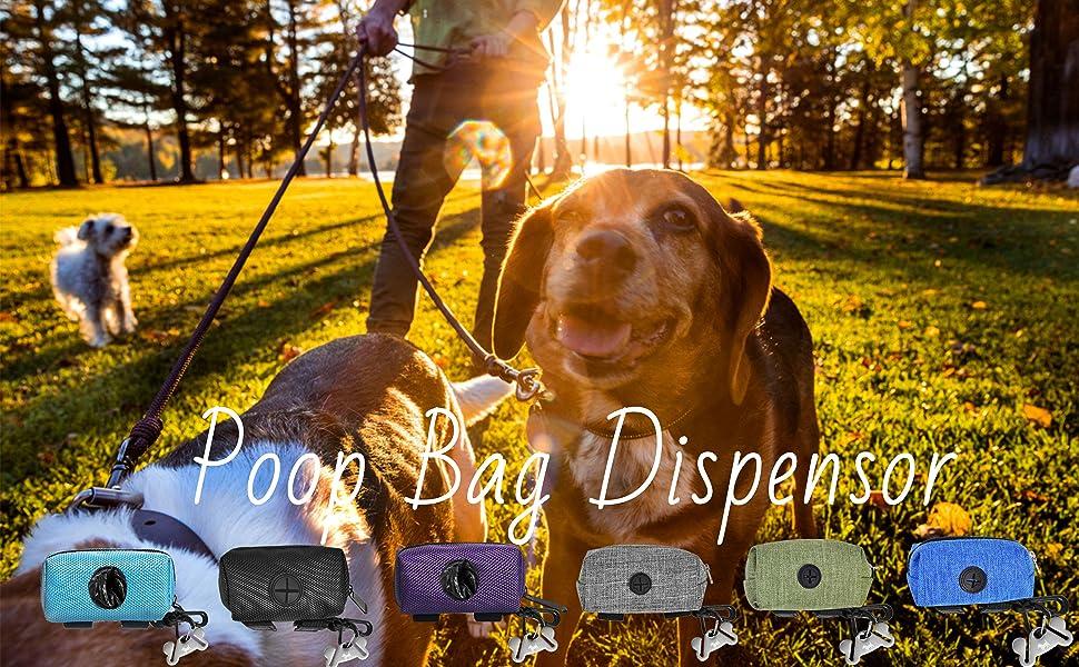 DOG POOP BAG DISPENSOR