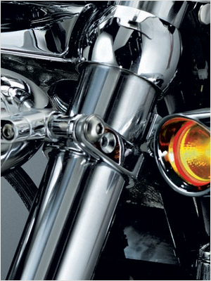 kuryakyn motorcycle p clamps mount bullet and other lighting accessories to frame or engine guards