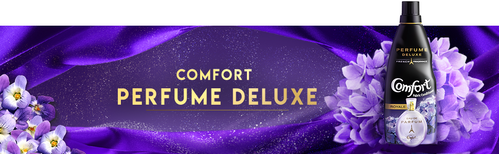 Comfort Perfume Deluxe Royale Fabric Conditioner, 850 ml