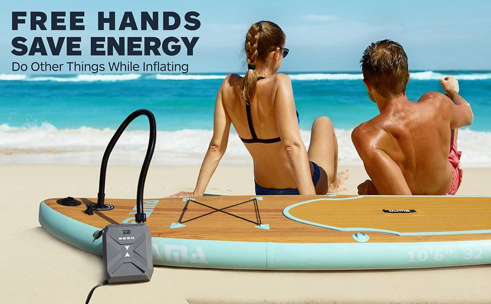 sup electric pump, sup pump electric portable, 20psi sup electric air pump, sup pump electric