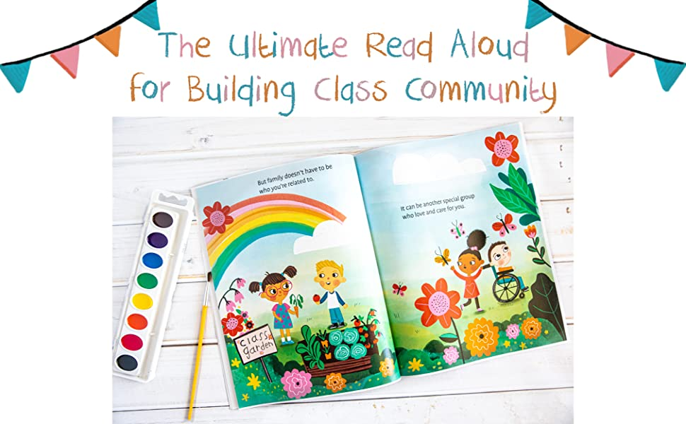 Our Class is a Family Classroom Book Teacher Resource Making friends at school