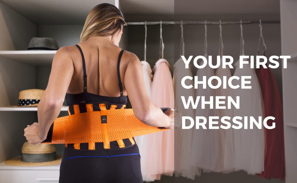 Your first choice when dressing