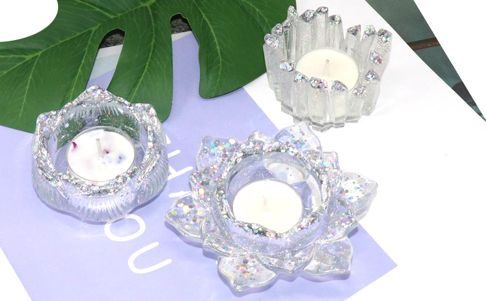 Resin Candle Holder Mold