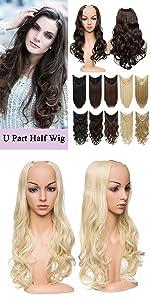 Half Wig Hair Extensions