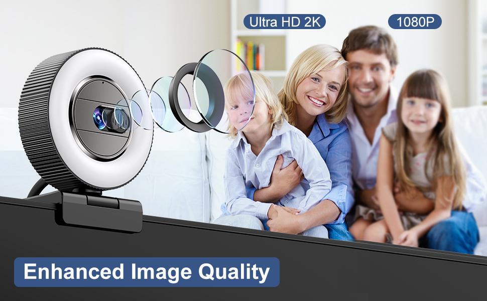 Enhanced 2K Image Quality Sharper than 1080p