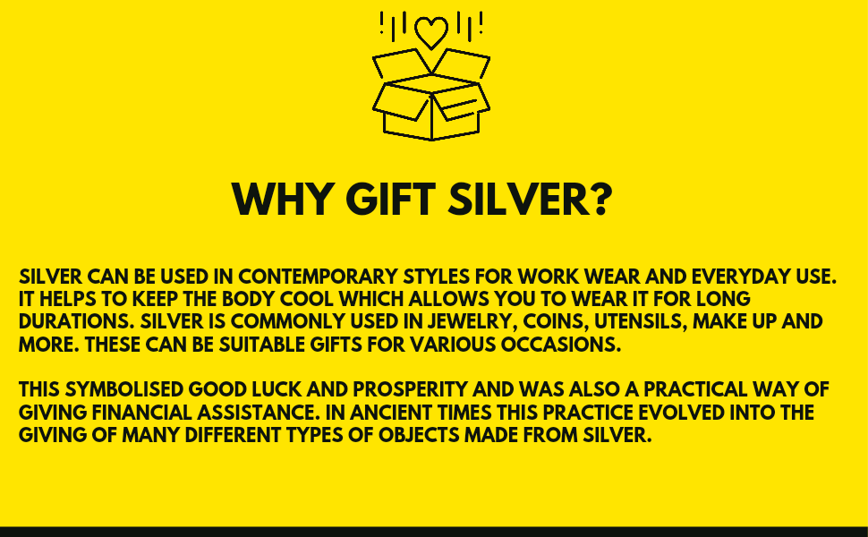 Gift silver
