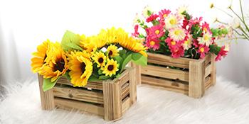 fake flowers bouquet