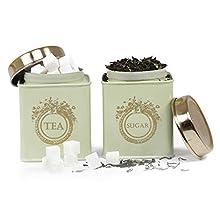 Elan Dreamer Tea & Sugar Canister