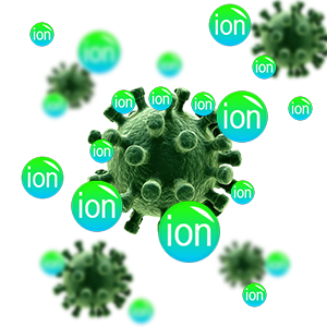 negative ion personal air - purifier