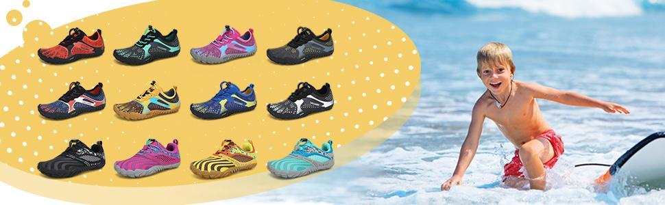 Unisex-Child Water Shoes for Kids Climbing Hiking Camping Trekking Running