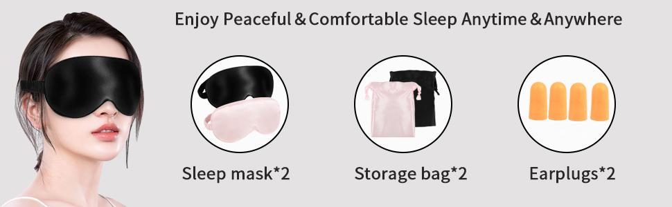 Enjoy Peaceful&Comfortable Sleep Anytime&Anywhere