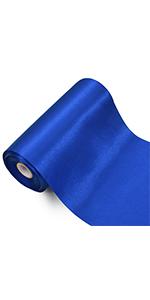 6 inch ribbon blue