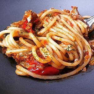 Faella Spaghettone Dish