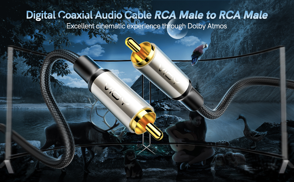 High Quality Coaxial RCA cable