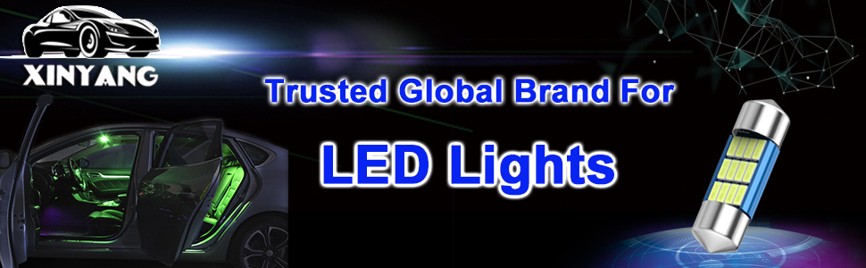 Green DE3175 LED Bulb 31mm 1.22in Canbus No Error  for License Plate Dome Map Door Courtesy Lights
