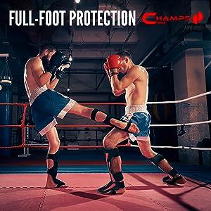 kickboxing shin guards
