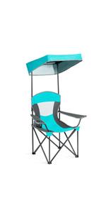 folding canopy chair