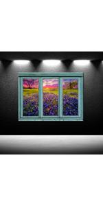 dining room wall decor nature canvas prints floral pictures for bedroom forest landscape
