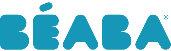 BEABA blue logo banner