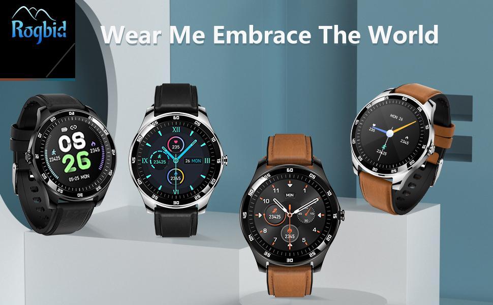 Rogbid GT Smart Watch Fitness Tracker fitness watch
