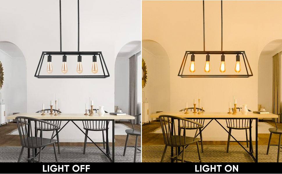 Shine Decor Pendant Lighting Chandelier Kitchen Island