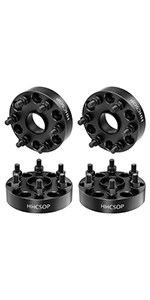 """6x5.5 to 6x5.5 Wheel Spacers 1.5"""", 6x139.7mm Wheel Adapters for Ch-evy Silverado Avalanche Express"""