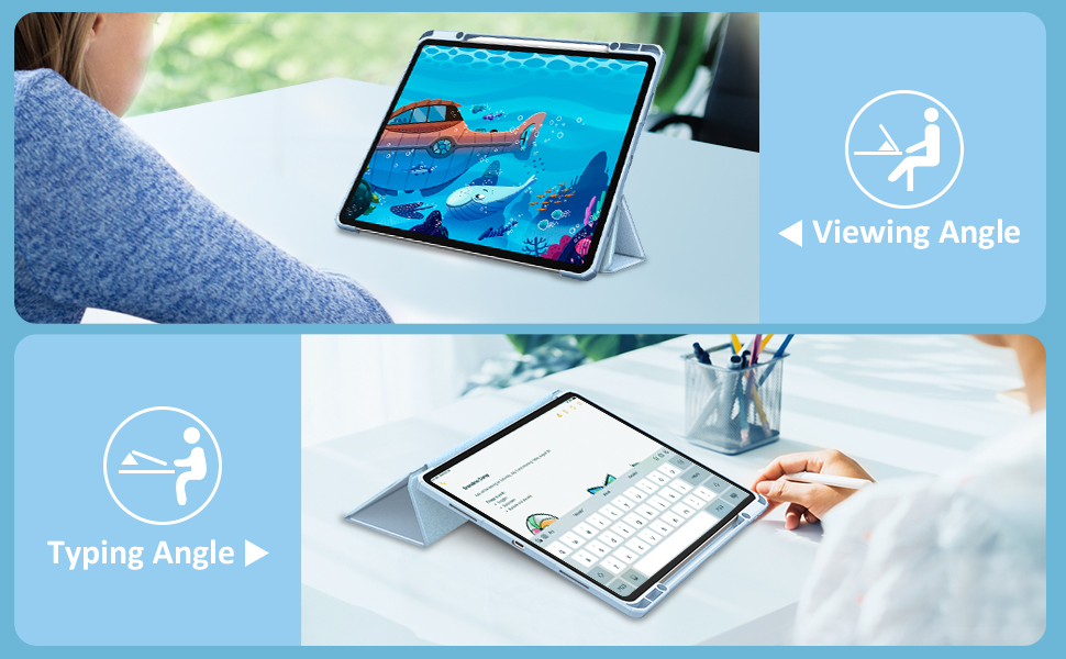 Amazon.com: Fintie Hybrid Slim Case for iPad Pro 12.9-inch ...