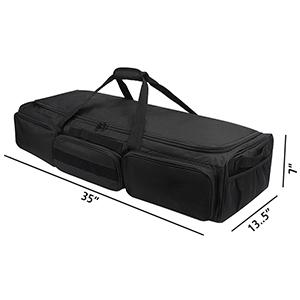 rear seat, the storage bag