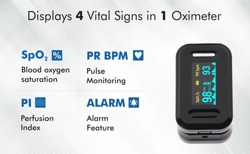 feature of accusure yk81c pulse oximeter