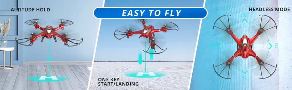 HS200 Ruby Red Easy to Fly