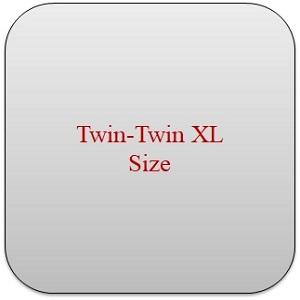 twin- twin xl size