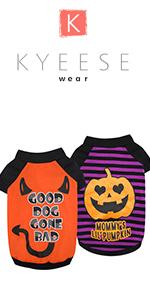 Dog Shirts Halloween Pumpkin
