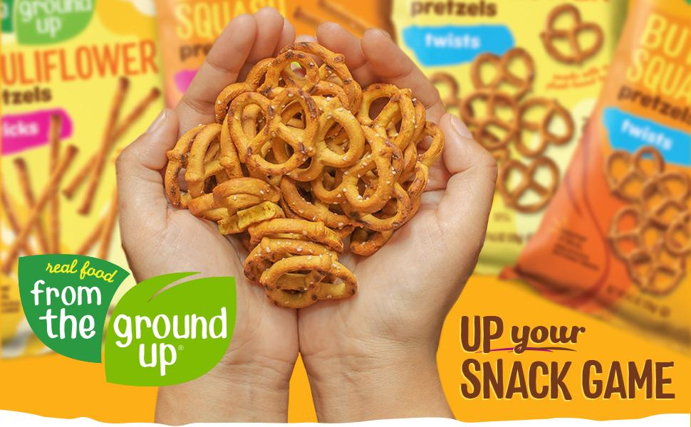 Real Food From The Ground Up Up Your Snack Game