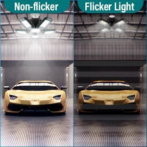 led shop lights for garage 4 foot with plug  illuminator 360 light ceiling lights  triple glow light