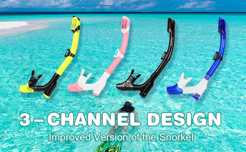 snorkel tube long